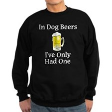 Dog Beers - Black Sweatshirt