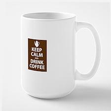 keepcalm_stacking Large Mug