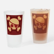 Billy-roger-red-BUT Drinking Glass