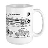 Space 1999 Large Mugs (15 oz)