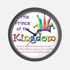 Little Prince of the Kingdom Wall Clock