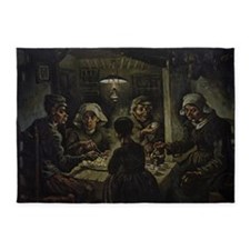 The Potato Eaters 5'x7'Area Rug