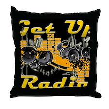 getupradio-sweater 1 Throw Pillow