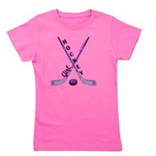 hockey_girl_3 Girl's Tee