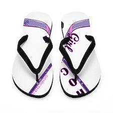 hockey_girl_3 Flip Flops