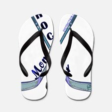 hockey_mom_2 Flip Flops