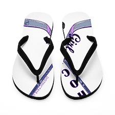 hockey_girl_1 Flip Flops