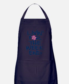 LivinForTheWeekendDaisy Apron (dark)