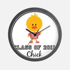 Senior2011Chick Wall Clock