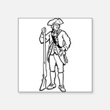 Revolutionary War Soldier Sticker
