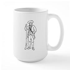 Revolutionary War Soldier Mugs