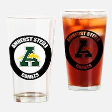AMS_Logo_Mascot_T Drinking Glass