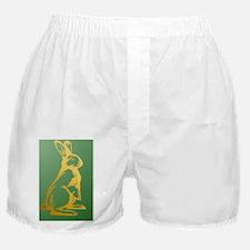 YearOfTheRabbitInsideCardP Boxer Shorts