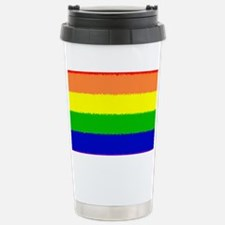 Rainbow Stainless Steel Travel Mug