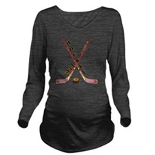 hockey_dad_2 Long Sleeve Maternity T-Shirt