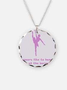 Dancer Barre Pink Necklace