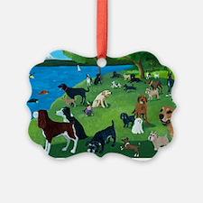 Sunday Park custom Ornament