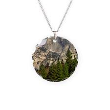 (11p) Half Dome Framed Necklace