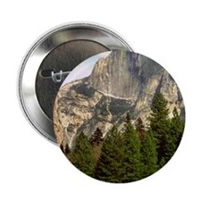 """(11p) Half Dome Framed 2.25"""" Button"""