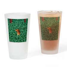 Happy and Free custom Drinking Glass