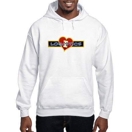 I Love Logistics Hooded Sweatshirt
