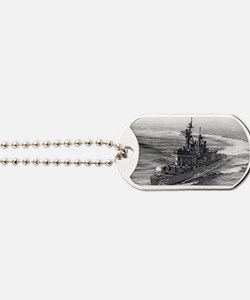 carpenter postcard Dog Tags