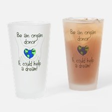 blanket graphic Drinking Glass