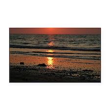 sunset03 Rectangle Car Magnet