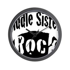 middle_sisters_rock Wall Clock