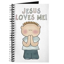 Jesus Loves Me (Boy) Journal