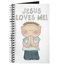 Jesus Loves Me (Boy) Journal