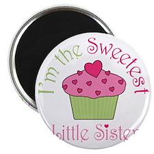 sweetest_little_sister Magnet