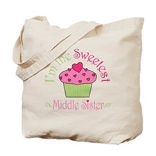 sweetest_middle_sister Tote Bag
