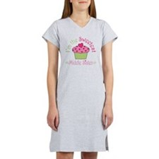 sweetest_middle_sister Women's Nightshirt