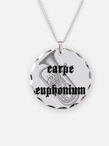 Carpe Euphonium Necklace