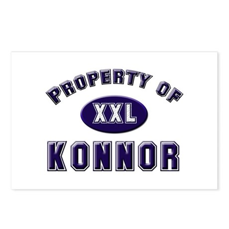 Property of konnor Postcards (Package of 8)