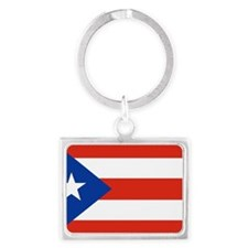 puerto rico Landscape Keychain