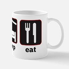eat sleep_bl Mug