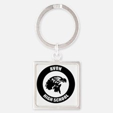 AVN_Logo_T Square Keychain
