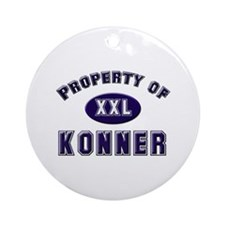 Property of konner Ornament (Round)