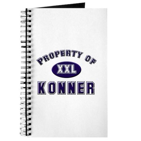 Property of konner Journal