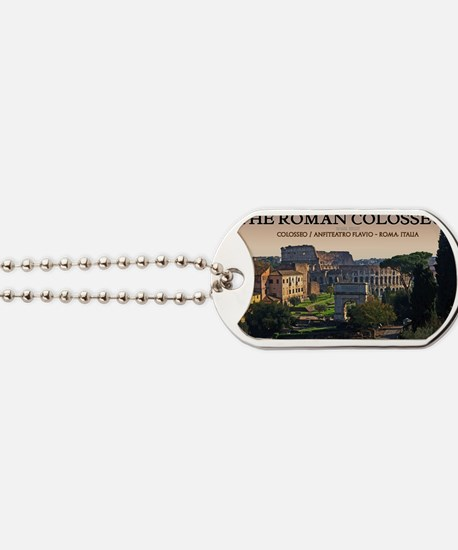 Rome - Forum and Colosseum Dog Tags