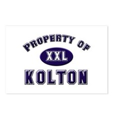 Property of kolton Postcards (Package of 8)