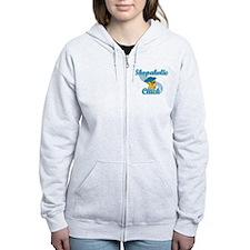 Shopaholic Chick #3 Zip Hoodie
