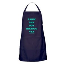 what_you_looking_at Apron (dark)
