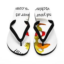 Duck-dialysis Flip Flops