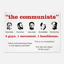 the-communists3 5'x7'Area Rug