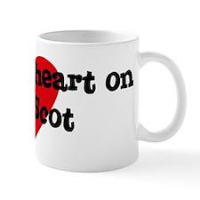 Heart on for Scot Mug