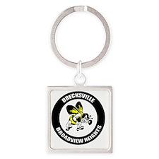 BRE_Logo_Mascot_T Square Keychain