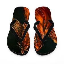 Fire Flip Flops